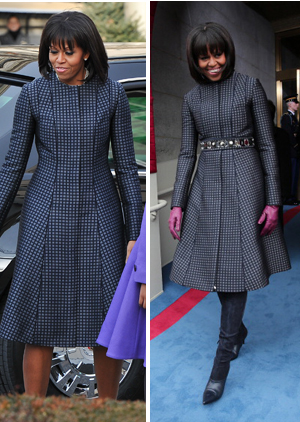Michelle Obama Wears Custom Thom Browne For Inauguration DayEvents
